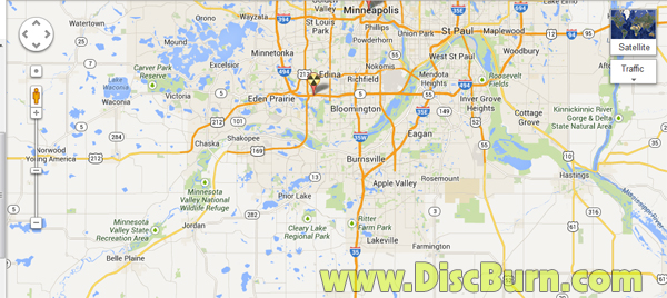 SW Twin Cities Map